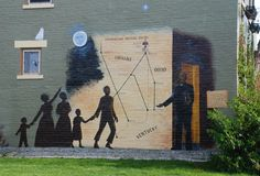 Underground Railroad Mural, Richmond, IN
