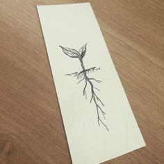 planting a seed tattoo # ein samen tattoo pflanzen Seed Tattoo, Botanisches Tattoo, Roots Tattoo, Piercing Tattoo, Piercings, Baby Tattoos, Body Art Tattoos, New Tattoos, Small Tattoos