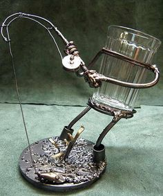Broadminded toured awesome metal welding projects You might also try Welding Art Projects, Metal Art Projects, Metal Crafts, Blacksmith Projects, Metal Sculpture Artists, Steel Sculpture, Sculptures, Miller Welding Helmet, Metal Welding