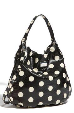 Love this black/white MARC by Marc Jacobs polka dot bag.