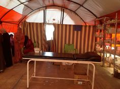 medical tent refugee camp - Google Search