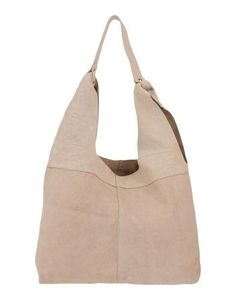 Small Crossbody Bag in Light PUtty Grained Leather Hogan WqTSy