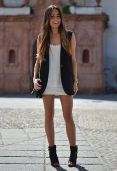 Vests are in this year! Good for layering, especially in the summer without adding extra warmth. Can put over flowy tank top as pictured, add capri leggings, maxi skirt.  More ideas on link.