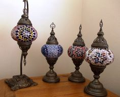 Mosaic Turkish Lanterns