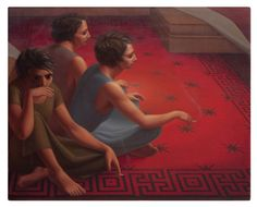 George Tooker, Red Carpet 1953