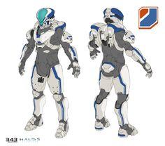 ArtStation - Venture MP Armor for Halo 5 Guardians, Sam Brown