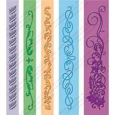 Cuttlebug Embossing Folder Border Set 5-Pack, Organic by Provo Craft, http://www.amazon.com/dp/B002MQFUKU/ref=cm_sw_r_pi_dp_so0zsb0C94STR