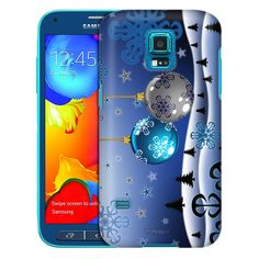 Samsung Galaxy S5 Sport Mystical Snowy Ornaments Trans Case