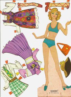 Professione Donna: Le Paper Doll- Bamboline di carta