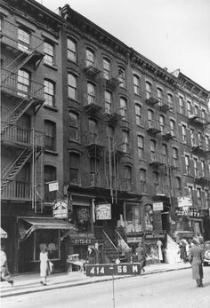 97 Orchard Street, c.1940, courtesy of the Municipal Archives; Photo courtesy of Lower East Side Tenement