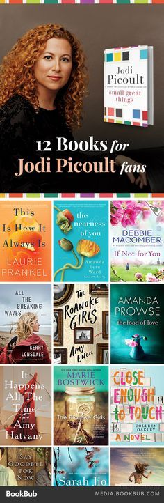 Heartwarming and heartwarming books to read if you love Jodi Picoult. This is a great list of books for women!