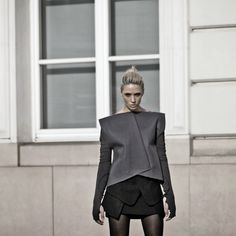 Rebel lookwearsELENA CIUPRINAbodysuit and top.  http://elenaciuprina.com/collections/all/products/bare-back-bodysuit <3