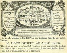Vintage Victorian Advert