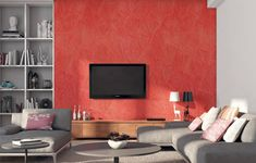 Living Room Wall Painting Designs For Hall - Living Room : Hardrawgathering. Asian Paint Design, Asian Paints Wall Designs, Paint Designs, Drawing Room Paint, Wall Painting Living Room, Bedroom Wall Designs, Bedroom Wall Colors, Bedroom Ceiling, Bedroom Ideas