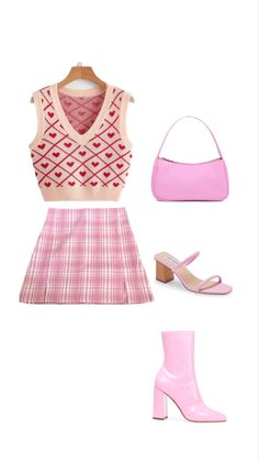 Preppy Outfits, Teen Fashion Outfits, Retro Outfits, Cute Fashion, Cute Outfits, Minecraft Outfits, Stage Outfits, Colourful Outfits, Polyvore Outfits