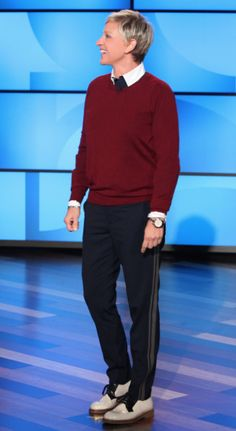 Shirt: Anto Sweater: Dries Van Noten Pants: Vince Shoes: Marni