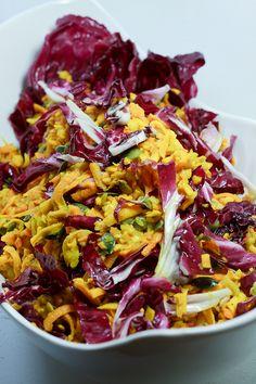 Hokkaido-Salat mit Radiccio