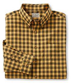 #LLBean: Wrinkle-Resistant Mini-Tartan Shirt, Traditional Fit