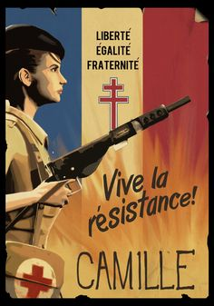 french resistance posters - Google Search