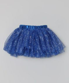 Take a look at this Midnight Blue Glitter Tutu - Infant by Hush Little Baby on #zulily today!
