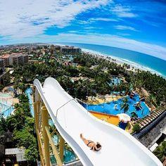 Um mundo de adrenalina e diversão! #BeachPark #Insano