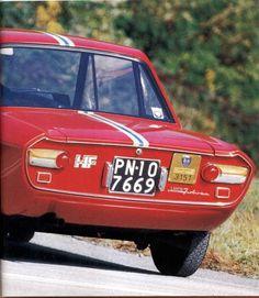 Lancia Fulvia HF prodotte nel 1966