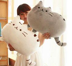 """Плюшевая подушка """"Толстый кот"""""""