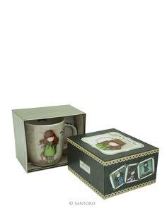 Santoro London - Hrneček - Gorjuss - The Fox Santoro London, Box Packaging, Hush Hush, Santorini, Unique Gifts, Decorative Boxes, Stationery, Bunny, Mugs