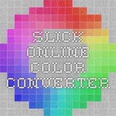 Slick online color converter