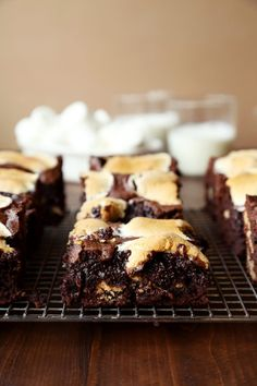 Thick S'mores Brownies | Joy the Baker