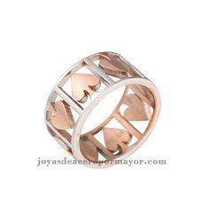 anillos de corazon alrededor de venta por mayor
