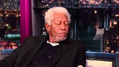 Morgan Freeman interview on David Letterman HD   November 1, 2013