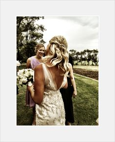 Photo By Katie O Brien A Very Country Wedding Dress Holly Mingles With