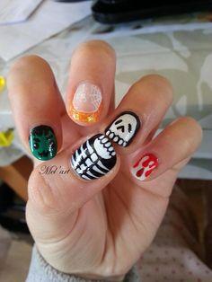 Mel'art | Nail art du 25/10/2015 Halloween