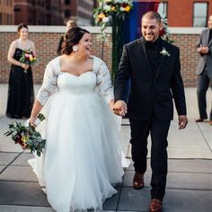 Plus Size Long Sleeve Wedding Dress With Low Back Style Ivory - Plus Sized Dress - Ideas of Plus Sized Dress - Plus Size Long Sleeve Wedding Dress With Low Back Long Sleeve Wedding, Wedding Dress Sleeves, Wedding Dress Styles, Plus Size Wedding Gowns, Plus Size Gowns, Davids Bridal Plus Size, Bridal Gowns, Ball Gowns, Formal Dresses