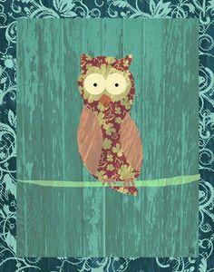 Hoot hoot! #nursery #owl
