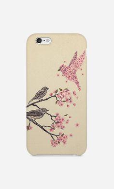 Coque iPhone Blossom Bird par Terry Fan - Wooop.fr
