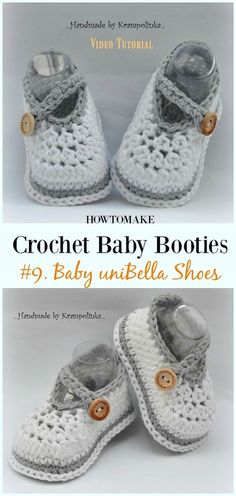 e8951a0570721 1491 Best Crochet Baby Booties images in 2019