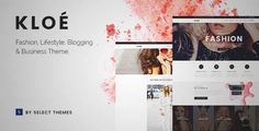 Download and review of Kloe - Fashion & Lifestyle Multi-Purpose Theme, one of the best Themeforest Retail themes