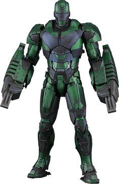 Hot Toys Iron Man Mark XXVI - Gamma Sixth Scale Figure