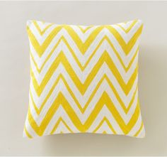 DwellStudio Chevron Citrine Pillow