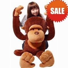 Plush Big-face Monkey Stuffed Animal Toy