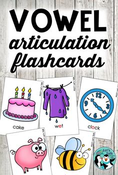 Vowel articulation cards are so hard to find and often needed for students with apraxia of speech - I've got you covered with this deck of quality flashcards!