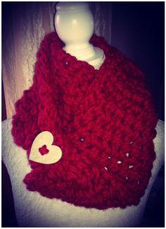 Sciarpa rossa in lana Norvegese