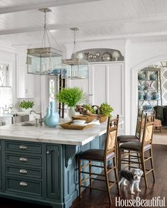 Mix and Chic: Home tour- A classic, coastal style home in Connecticut by Lee Ann Thornton