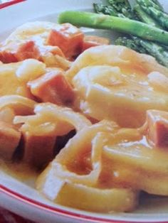 Easy crockpot recipes: Ham and Scalloped Potatoes Crockpot Recipe