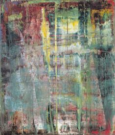 Gerhard Richter » Art » Paintings » Abstracts » Abstract Painting » 801-1