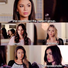 "S5 Ep12 ""Taking This One To the Grave"" - Mona, Spencer, Emily, Hanna and Aria"
