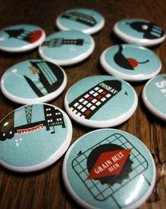 Minneapolis Buttons