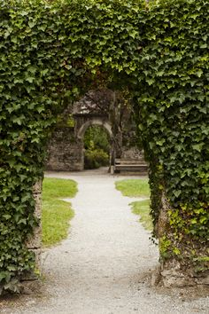 Emerald Arch at Highclere Castle